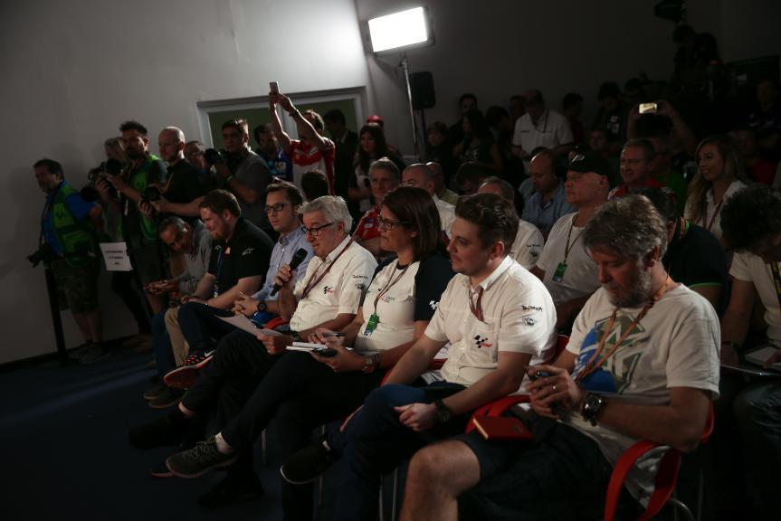 Press-Conference, Gran Premio Motul de la República Argentin
