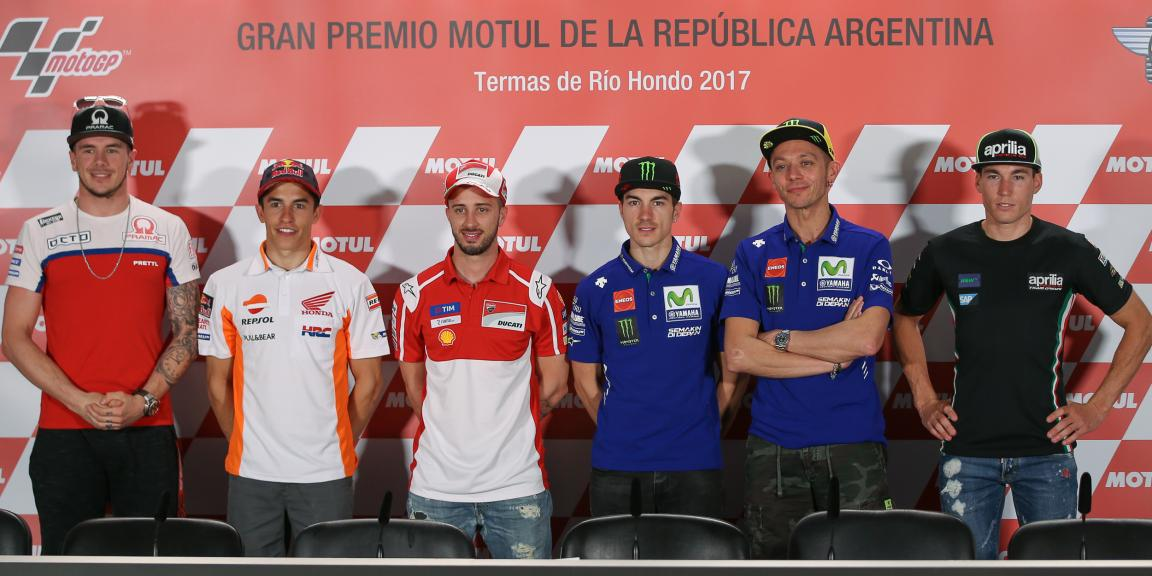 Cover, Press-Conference , Gran Premio Motul de la República Argentina