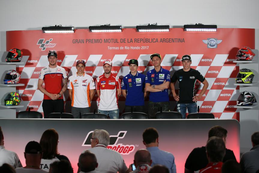 Press-Conference , Gran Premio Motul de la República Argentina