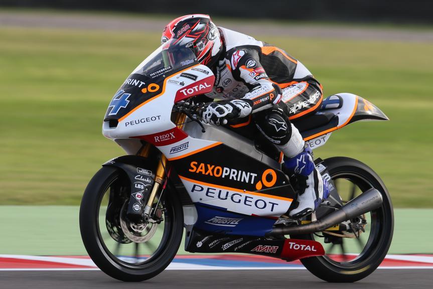 Patrik Pulkkinen, Peugeot Mc Saxoprint, Gran Premio Motul de la República Argentina