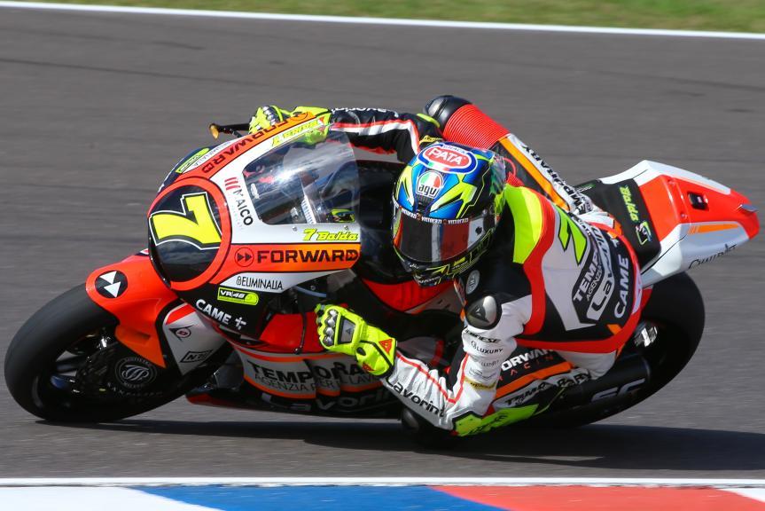 Lorenzo Baldassari, Forward Racing Team, Gran Premio Motul de la República Argentina