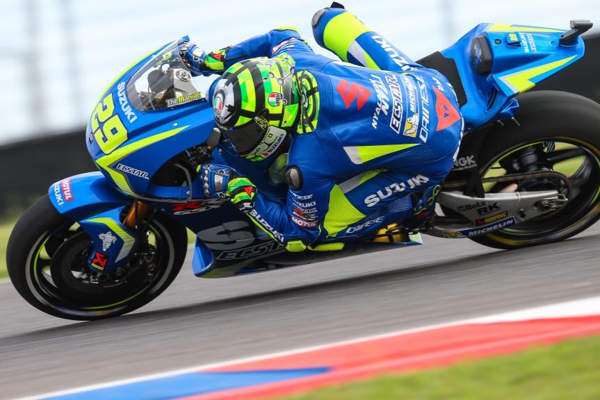 Andrea Iannone, Team Suzuki Ecstar, Gran Premio Motul de la República Argentina