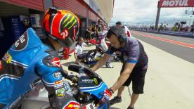 The second Free Practice session of the weekend in the Moto3™ World Championship at the #ArgentinaGP.