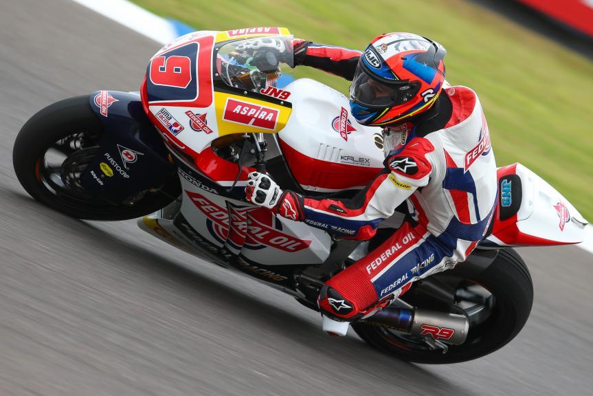 Jorge Navarro, Federal Oil Gresini Moto2, Gran Premio Motul de la República Argentina