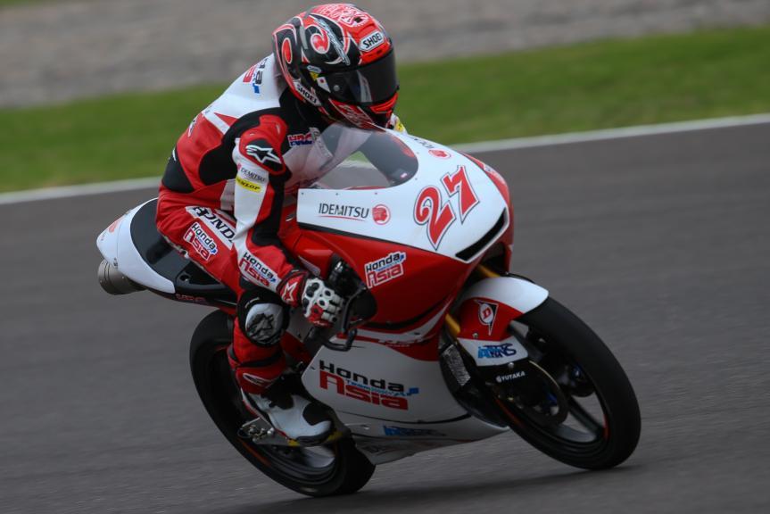Kaito Toba, Honda Team Asia, Gran Premio Motul de la República Argentina