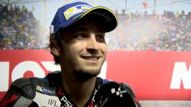 The Czech rider took his first ever front row start at the #ArgentinaGP, lining up 2nd for Sunday's race