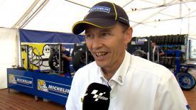 Nicolas Goubert, direttore tecnico Michelin, commenta la prestazione delle gomme nel sabato in Argentina.