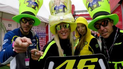The passion for Rossi in South America