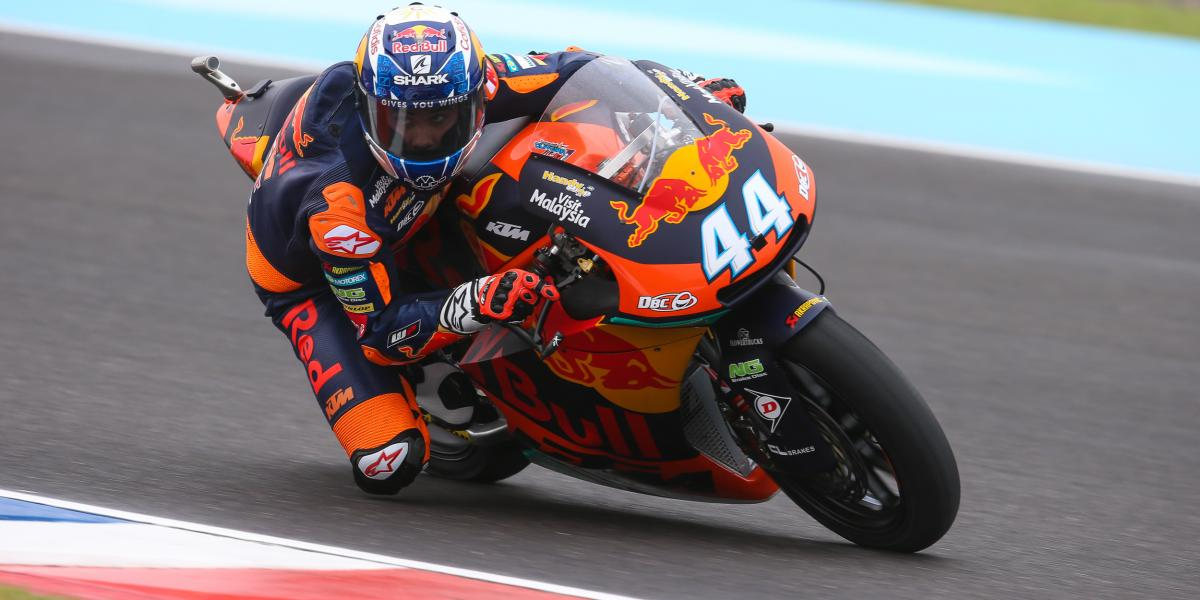 Oliveira beats the Moto2™ madness for pole | MotoGP™