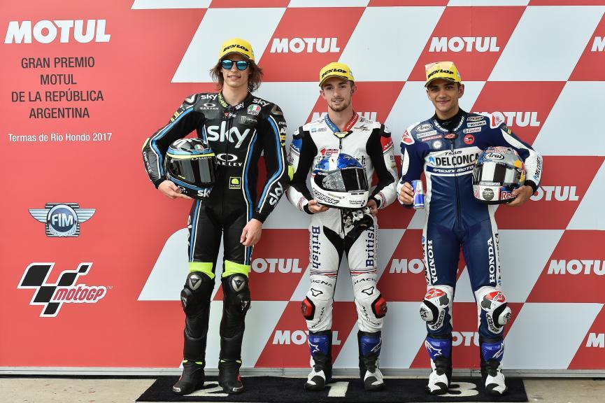 John Mcphee, Nicolo Bulega, Jorge Martin, Gran Premio Motul de la República Argentina