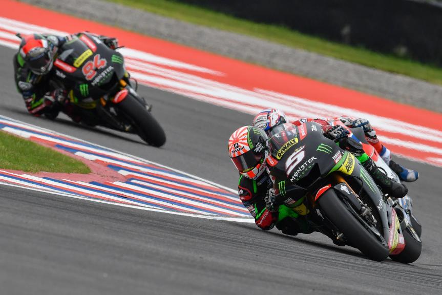 Johann Zarco, Jonas Folger, Monster Yamaha Tech 3, Gran Premio Motul de la República Argentina