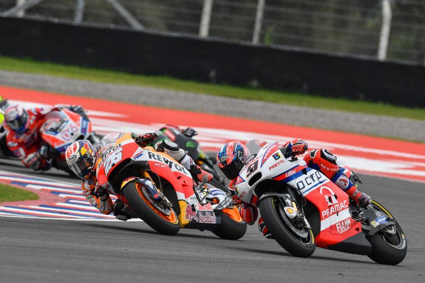 Danilo Petrucci, Octo Pramac Racing, Dani Pedrosa, Repsol Honda Team, Gran Premio Motul de la República Argentina