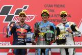 Thomas Luthi, Franco Morbidelli, Miguel Oliveira, Gran Premio Motul de la República Argentina