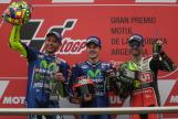Maverick Vinales, Valentino Rossi, Cal Crutchlow, Gran Premio Motul de la República Argenti