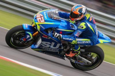 Rins' tough weekend injured in Argentina