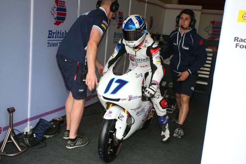 John Mcphee, British Talent Team, Gran Premio Motul de la República Argentina