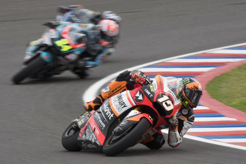 Luca Marini, Forward Racing Team, Gran Premio Motul de la República Argentina