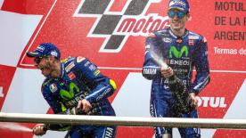 Maverick Viñales became the first Yamaha rider since Wayne Rainey to win the first two races of the year