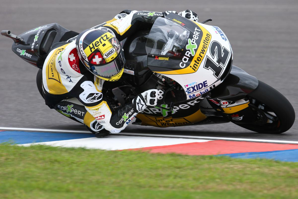 """Lüthi: """"I couldn't follow the guys in front"""" 