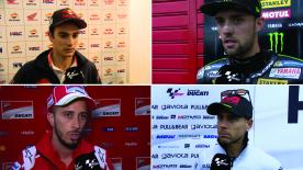 MotoGP™ riders give us feedback on their race results at the #ArgentinaGP.