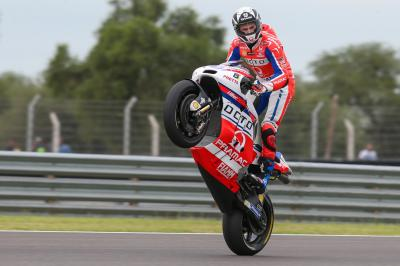 Redding power: Brit fourth in the Championship