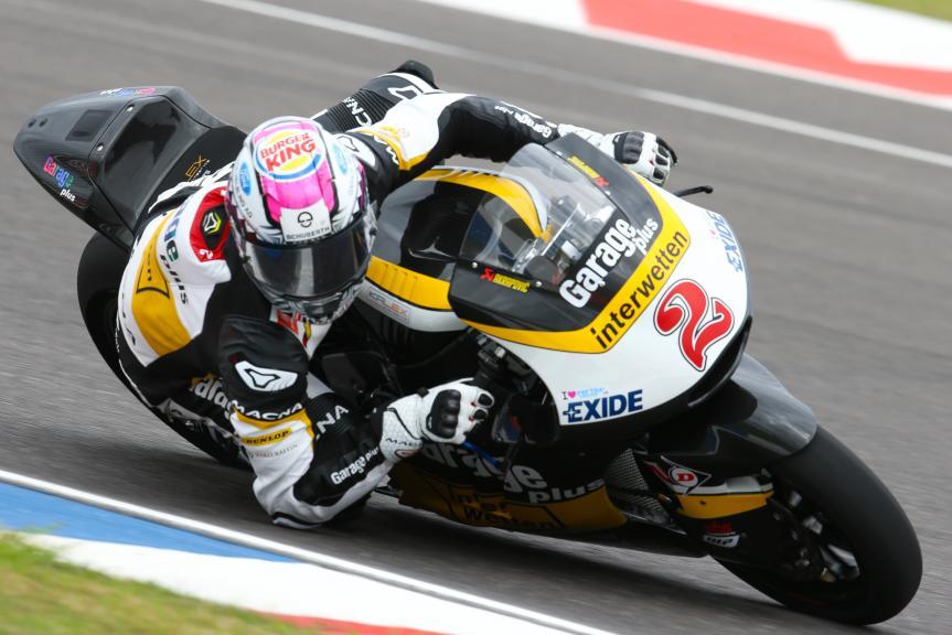 Jesko Raffin, Garage Plus Interwetten, Gran Premio Motul de la República Argentina