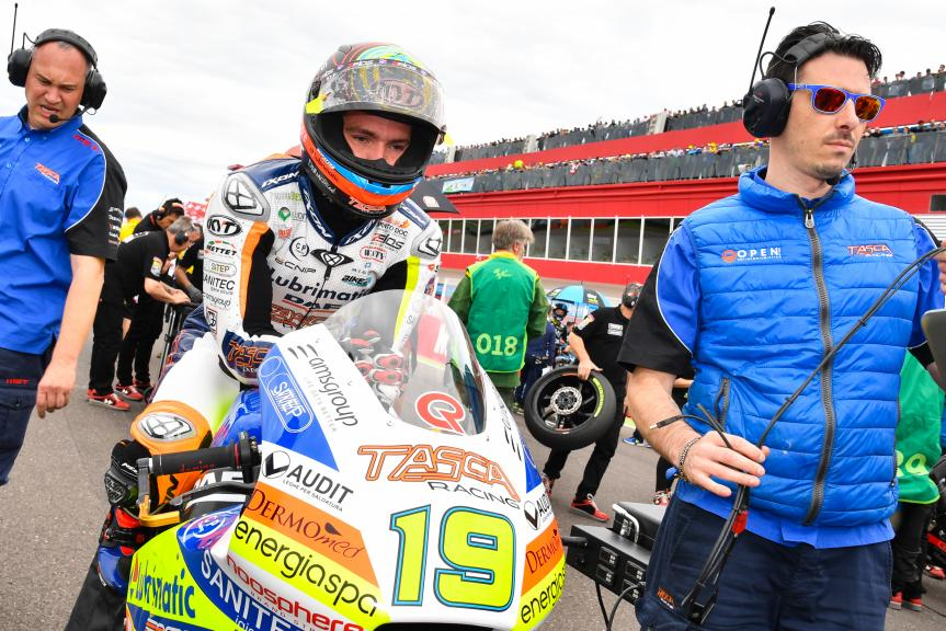 Xavier Simeon, Tasca Racing Scuderia Moto2, Gran Premio Motul de la República Argentina