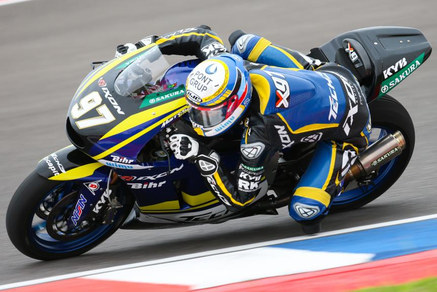 Xavi Vierge, Tech 3 Racing, Gran Premio Motul de la República Argentina
