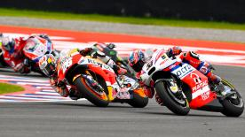 An explanation of some of the most remarkable overtakes that took place at the #ArgentinaGP.
