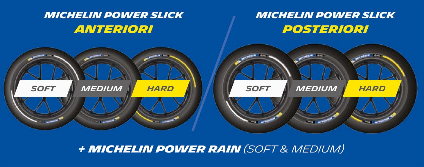 Michelin power slick