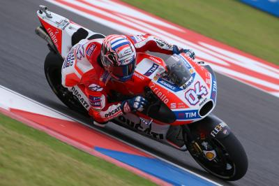 "Dovizioso eyes ""opportunity to put things right"" in Austin"