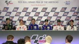Everything you need to know from the official opening press conference at the #AmericasGP.