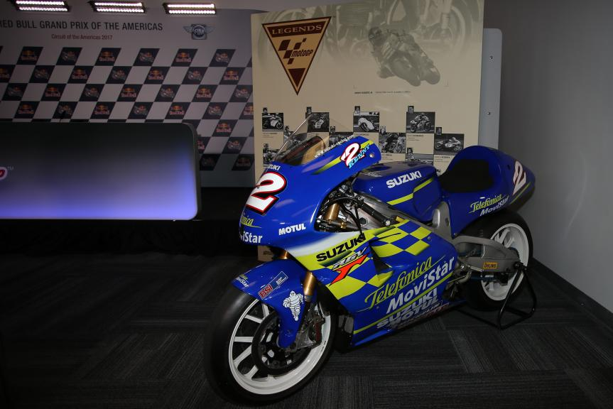 Kenny Roberts Jr Legend, Red Bull Grand Prix of The Americas