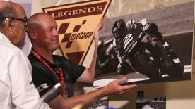 2000 500cc World Champion, Kenny Roberts Jr. was made a MotoGP™ Legend on Friday at the Circuit of the Americas