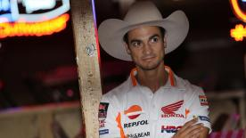 A variety of Moto3™, Moto2™, and MotoGP™ riders had the chance to embrace the culture of Texas before the #AmericasGP as they went dancing