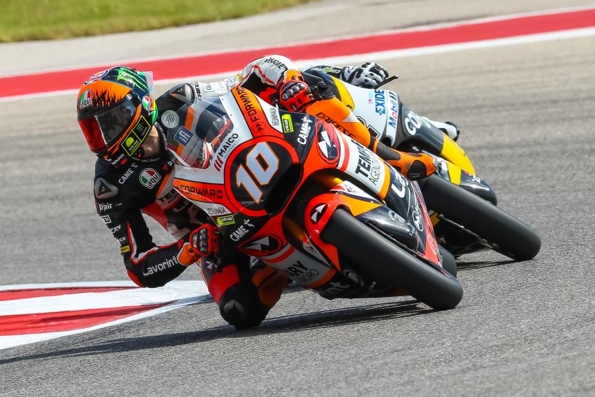 Luca Marini, Forward Racing Team, Red Bull Grand Prix of The Americas