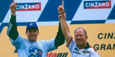 Kenny Roberts Jr. wird eine MotoGP™ Legende