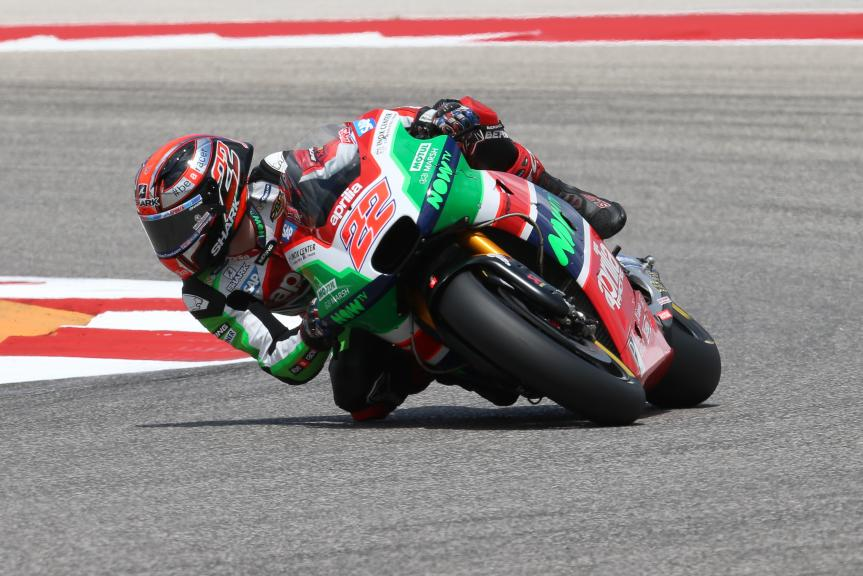 Sam Lowes, Aprilia Racing Team Gresini, Red Bull Grand Prix of The Americas