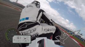 Just on-board for a lap of the Circuit of the Americas track, filmed exclusively using GoPro cameras.