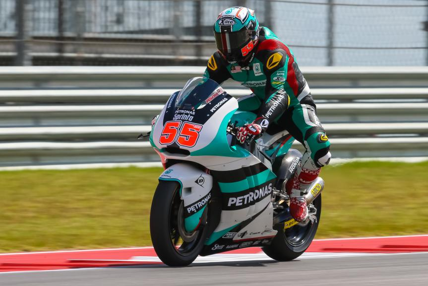 Hafizh Syahrin, Petronas Raceline Malaysia, Red Bull Grand Prix of The Americas