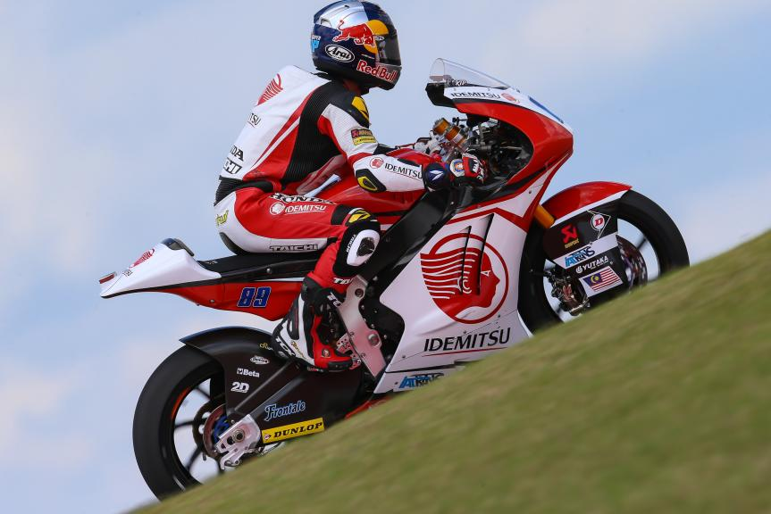 Khairul Idham Pawi, Idemitsu Honda Team Asia, Red Bull Grand Prix of The Americas