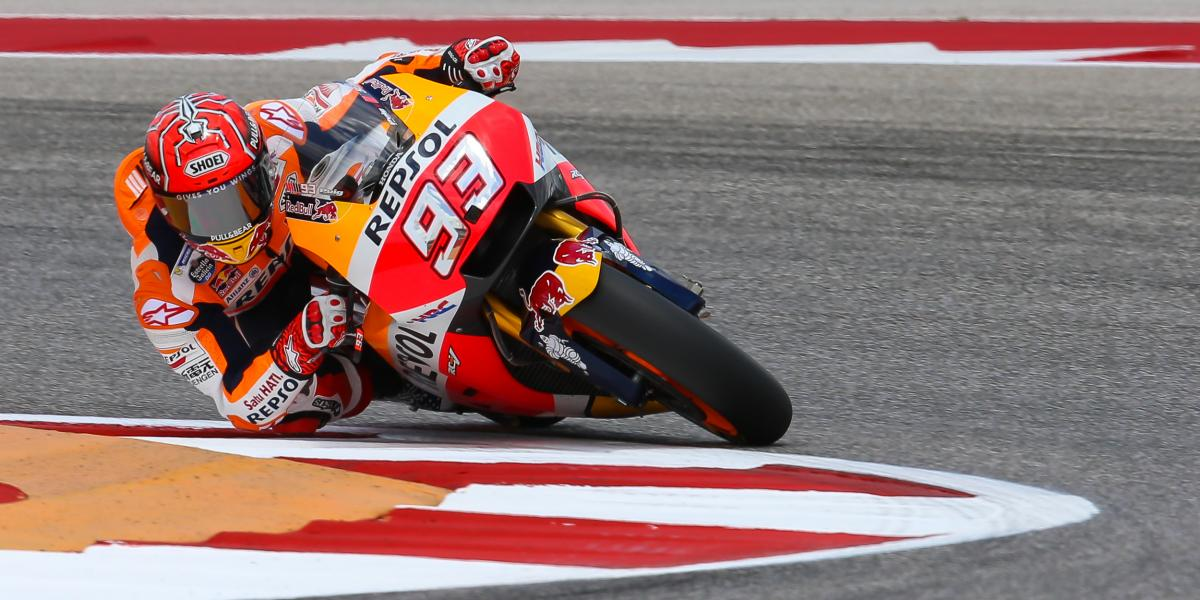 Land Of The 93 Marquez Back On Top In Texas Motogp