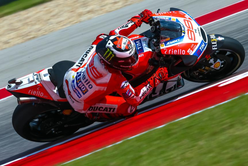 Jorge Lorenzo, Ducati Team, Red Bull Grand Prix of The Americas