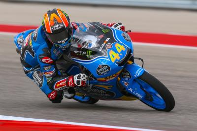 Canet decimates FP1 in Texas