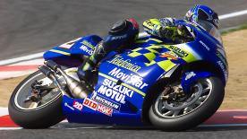 After winning 500cc title in 2000, Kenny Roberts Jr. made history after the Roberts family became the first Father/Son World Champions
