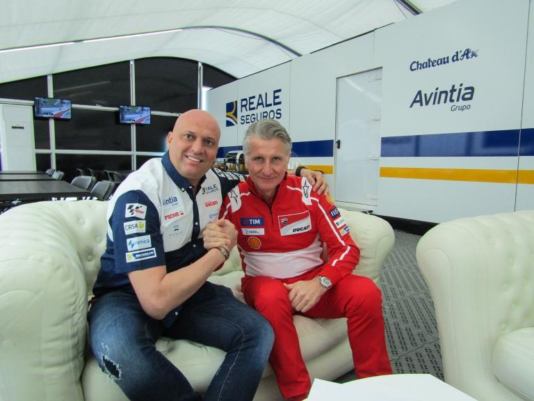 Reale Avintia Racing y Ducati