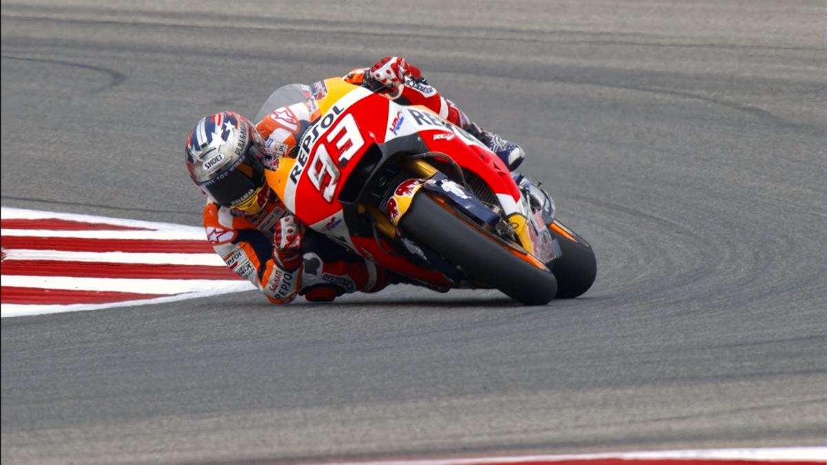 Highlights: Marquez takes record fifth pole at COTA