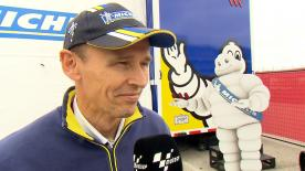 Michelin Racing's Technical Director, Nicolas Goubert, explains Michelin's point of view about Saturday's sessions.