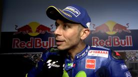 The nine-time World Champion says the session featured a lot of traffic on track