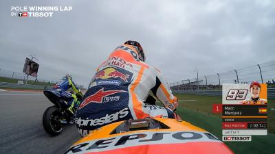 #AmericasGP : En piste avec Marc Marquez